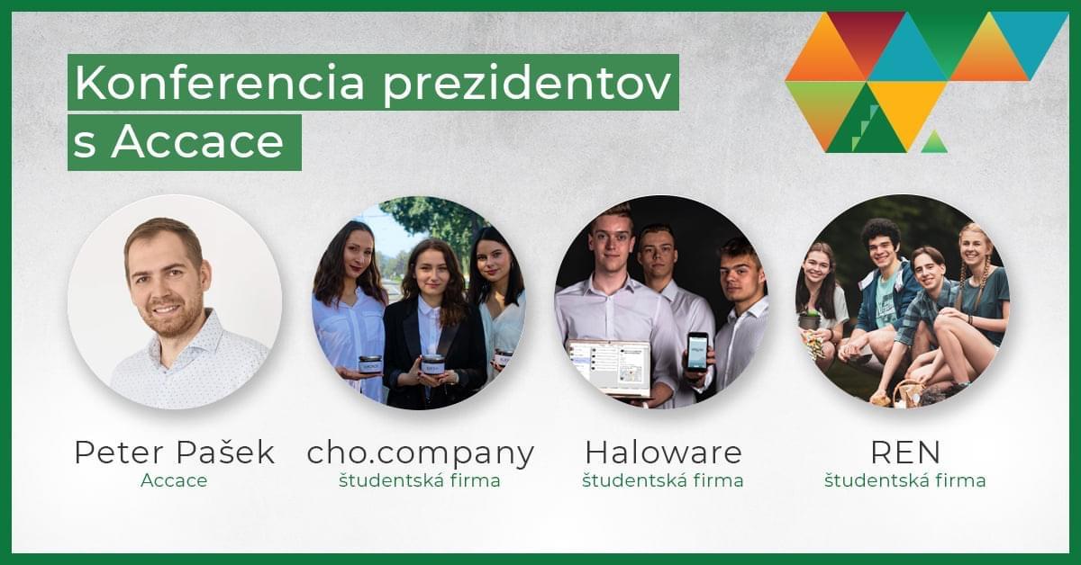 stretnutie prezidentov študentských firiem