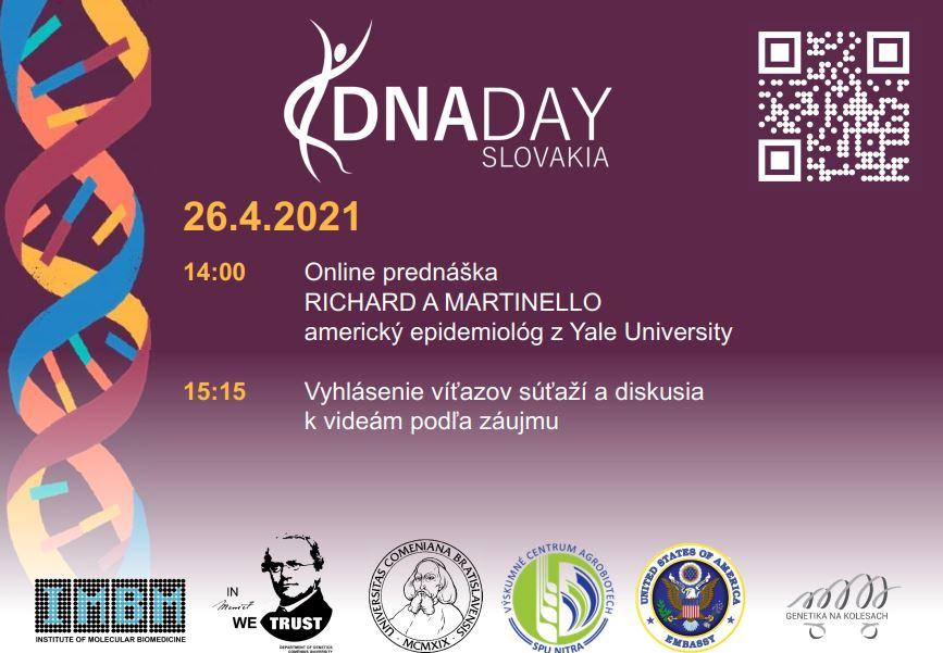 pozvánka na DNA day